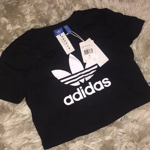 Adidas Women's Cropped Tee